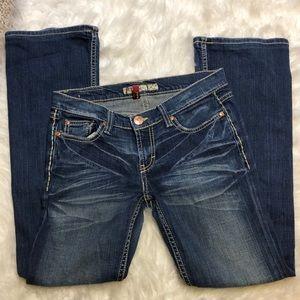 EUC BKE Lexi Stretch Jean Size 28x31 1/2